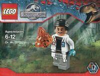 Lego Jurassique Monde. Dr Wu 5000193818 Sac en Plastique Neuf Emballé
