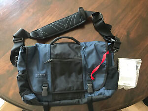 NEW Timbuk2 messenger bag blue/black 19.5 Inch X 12 Inch