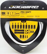 Jagwire Road Pro Slick Polished Shift Cable Kit For Sram/Shimano White