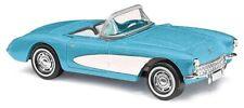 Busch # 45411 1956 Chevrolet Corvette Convertible - Assembled Top Down HO MIB