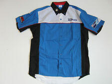 Suzuki GSX R Racing Team Clothing, Teamhemd, Shirt Embroidered, Size S Blue