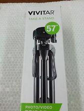 "Vivitar Vpt-2457 Tripod Take A Stand 57"" Photo Video Camera Stand"