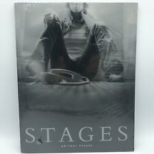 New Britney Spears STAGES Book with DVD and Poster 2002