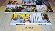 INVICTUS ! clint eastwood ( realisateur ) jeu 8 photos cinema lobby cards