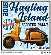 2018 HAYLING SCOOTER RALLY PATCH BSRA MODS SKINHEADS not PADDY SMITH