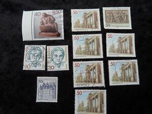 Briefmarken Berlin - gestempelt