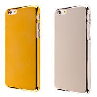Coque de protection housse case cover Apple iPhone 4 4s 5 5s 6 plus effet chrome