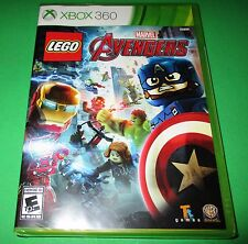 LEGO Marvel's Avengers Microsoft Xbox 360 *Factory Sealed *Free Shipping