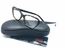 Ray Ban Tortoise Eyeglasses RB 5341 2012 53 mm Designer Fashion Demo Lens