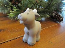 Fisher Price Little People Farm Barn Manger Nativity goat grey ear Short Horn