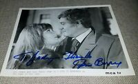 GENE BARRY  8x10 photo AUTOGRAPHED  SIGNED AUTOGRAPH MOVIE STAR ACTOR