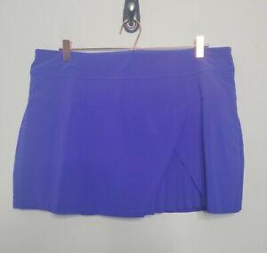 Athleta Skort Size XL Purple Extra Large  Tennis Golf Womens