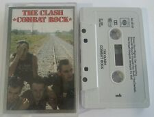 THE CLASH Combat Rock CASSETTE TAPE Free 1st Class Post UK
