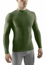 Sub Sports Mens Small Thermal Long Sleeve Mock Turtleneck