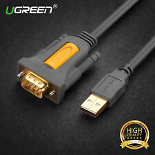 Ugreen USB 2.0 to Serial RS232 DB9 9Pin PL2303 Cable Adapter Converter 3FT NEW