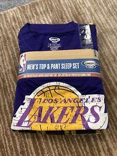 Los Angeles Lakers pajamas set men