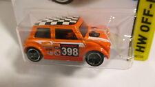 Hot Wheels 2015 #80 HW Offroad MORRIS MINI  orange