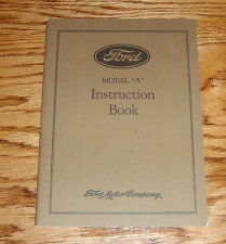 1928 Ford Model A Instruction Book Owners Operators Manual 28