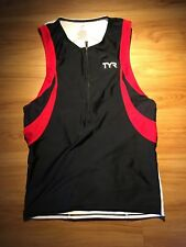 Tyr Womens Cycling Sleeveless Jersey Size Large