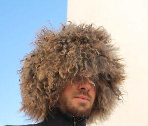 papakha papaha KHABIB winter hat  super goatskin cool hat winter