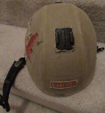 "Giro ""Bad Lieutenant"" Snowboard Ski Helmet Army Green Cloth Size S GoPro Mount"