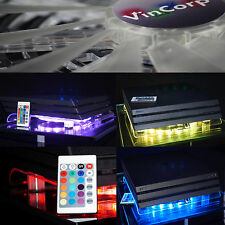 VINCORP ® Multicolor Playstation 4 PS4 PRO SLIM LED Design Kühler Lüfter Stand
