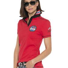 Nebulus Polo-Shirt SCIENCE, Damen, rot, S/36, Q1358