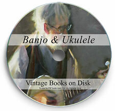 Rare Books Banjo Ukulele DVD Chord Song Banjolele Tuning Strings Learn Play 256