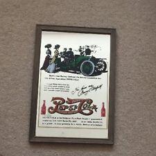 Vintage Pepsi Cola Wall Sign Mirror