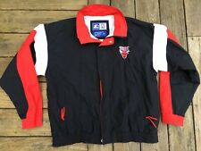VTG Chicago Bulls Starter Full Zip Lined Windbreaker Jacket Men's Size XL