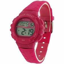 Tikkers GIRLS/ LADIES Digital LCD Alarm Sports, Stop Watch/ 50M/ PARTY BAG GIFTS