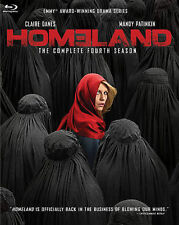 Homeland Season 4 Four COMPLETE 4th Blu-Ray Disc Set (2015) NEW