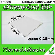 [EC-360™] Thermal-Adhesive 100x100mm 3W/mK   Glue, Pad, Tape, RAM Heatsink
