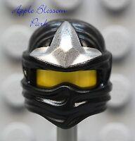 NEW Lego Ninjago Ninja BLACK HEAD WRAP - ZX Cole Minifig Headwrap Hood Hat Gear