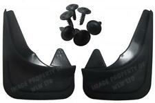 Rubber Moulded Universal Fit Rear MUDFLAPS Mud Flaps for Fiat Models