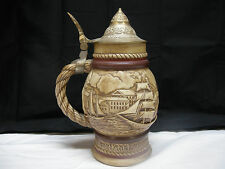 1977 AVON Sailing / Nautical Beer Stein Mug Hand Crafted Collectible Near Mint
