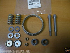 Renault Clio Sport 172 & 182 Genuine Exhaust Downpipe Clamp / Seal Kit