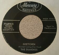 Diamonds, The ‎– Gretchen / A Mother's Love (M-)
