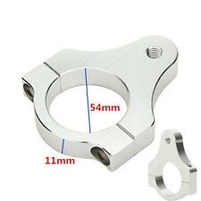 54mm CNC Motorcycle Aluminium Steering Damper Fork Frame Mount Clamp Bracket NEW