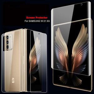 For Samsung Galaxy Z Fold 2 Hydrogel 4-IN-1 Screen Protector Film 5G