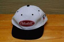 Rare Vtg Peterbilt Chevron Delo Adjustable Hat Cap Trucker Trucking Semi