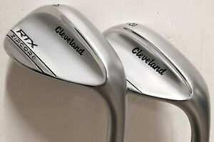 Cleveland RTX Zipcore Tour Satin Wedges 54, 58 (Stiff/RH) Steel F6360