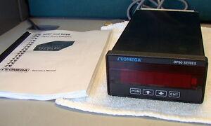 OMEGA DP87 5-Digit Precision Strain Gage Indicator DP80 Series