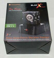 THERMALTAKE  BlacX Duet eSATA + USB 2.0 Dual Hard Drives  DOCKING STATION