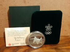 1986 Silver Boxed $20 Canada Coin - 1988 Calgary Winter Olympic Games