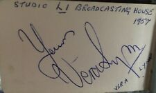 More details for vintage autograph book 195os etc signed by film stars bbc tv, theatre usa and uk