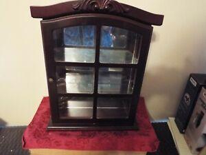Mirrored Wooden Wall Display Box
