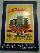 LIBRO SU CASTELLAMONTE TORINO - CERAMICA - STUFE - LA STORIA - LA TERRA -  L/A-2
