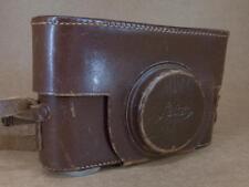 Leitz Leica Leather Ever-Ready ESOOG Case 3/8'' Thread for Ic / If Bodies