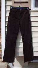 NYDJ Rhinestone  Womens Brown STRETCH Jeans Size 2